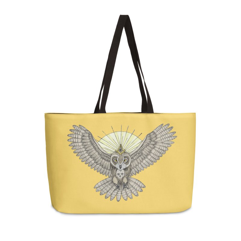 Mason Owl in Weekender Bag by Beatrizxe