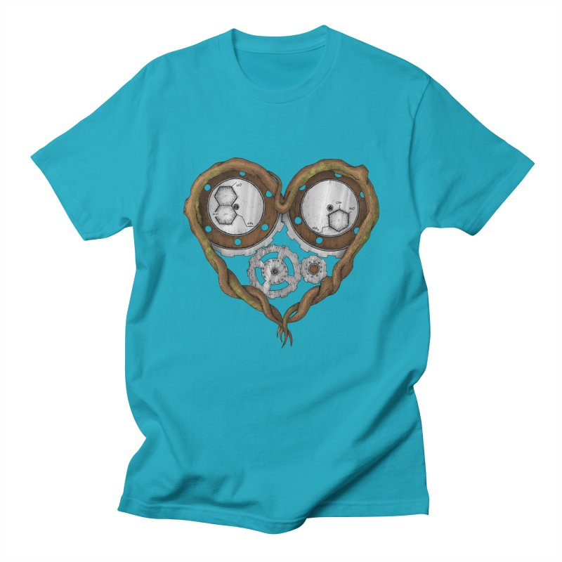 Chemistry of love: dopamine and serotonin formula (Color version) Men's T-Shirt by Beatrizxe