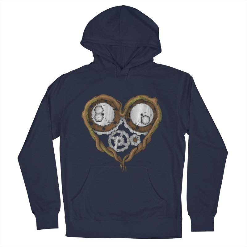 Chemistry of love: dopamine and serotonin formula (Color version) Men's Pullover Hoody by Beatrizxe