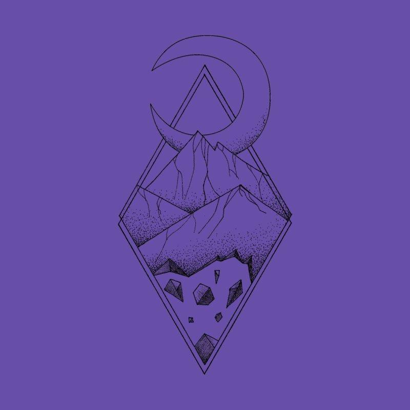 Geometric mountain - optical illusion (tattoo design) Men's T-Shirt by Beatrizxe
