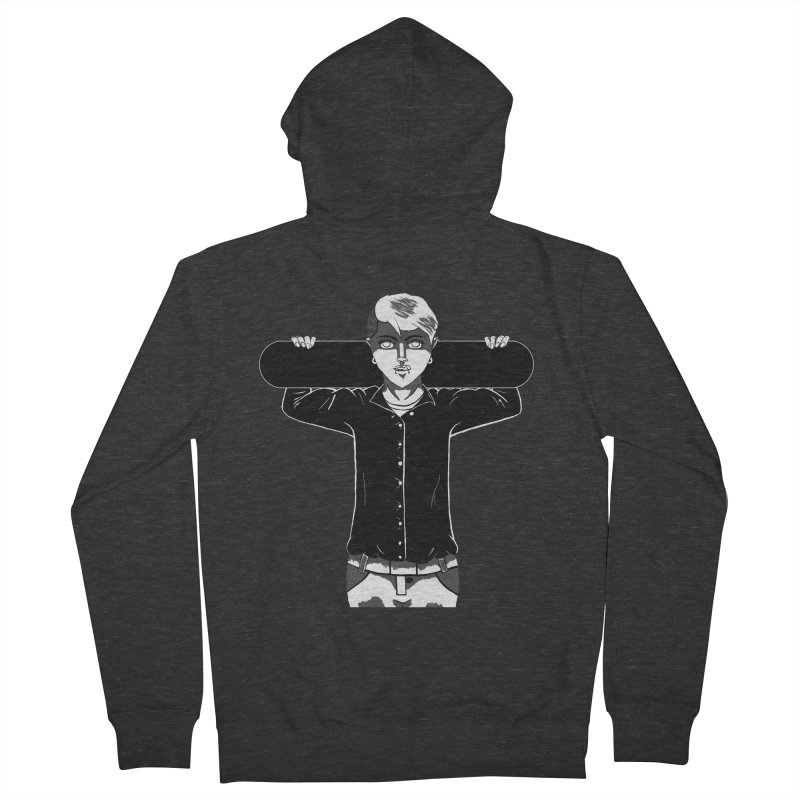 The Lost One Men's Zip-Up Hoody by beautyinthelines's Artist Shop