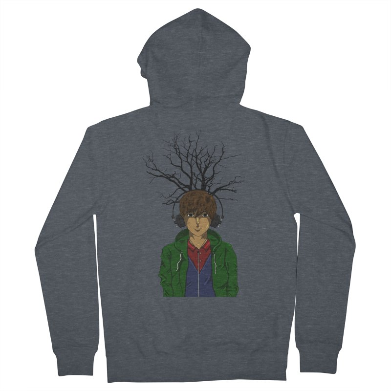 Listening to the Wastes Women's Zip-Up Hoody by beautyinthelines's Artist Shop
