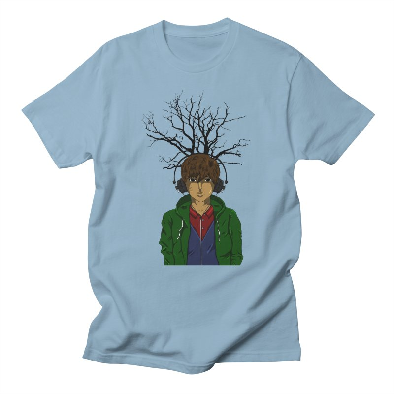Listening to the Wastes Men's T-Shirt by beautyinthelines's Artist Shop