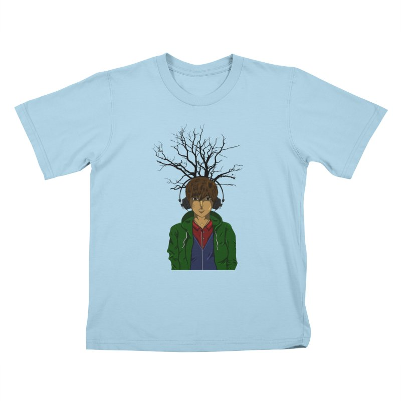 Listening to the Wastes Kids T-Shirt by beautyinthelines's Artist Shop