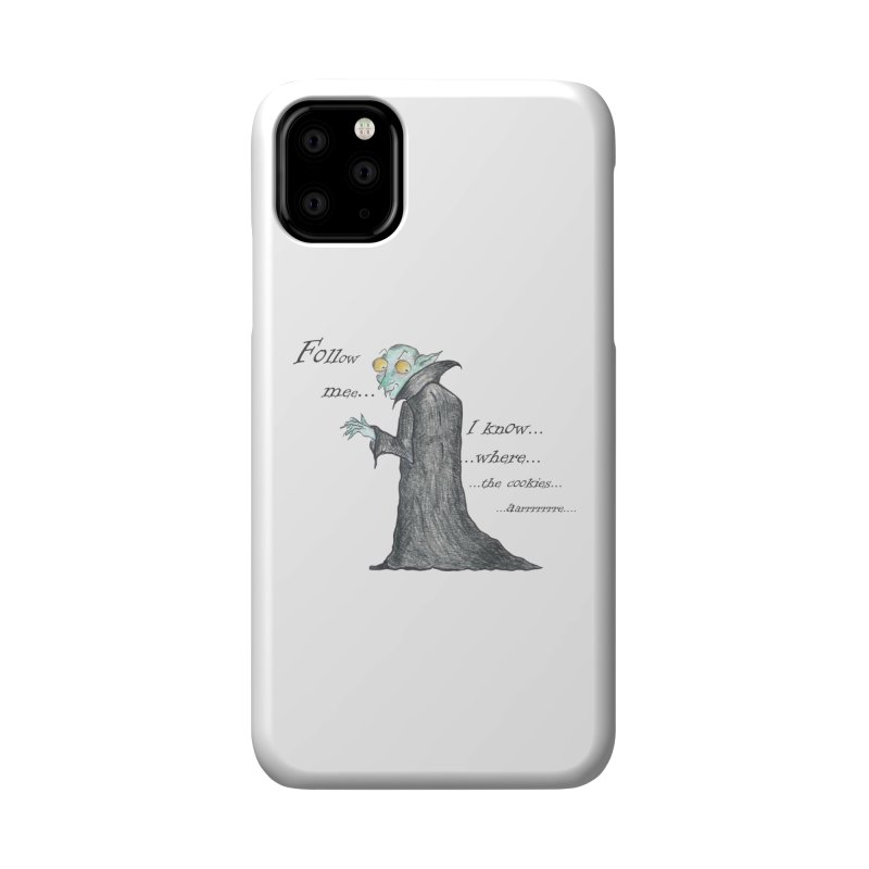 Follow Me, says the Vampire Accessories Phone Case by Brigitte Doernerova - Imaginista Designs