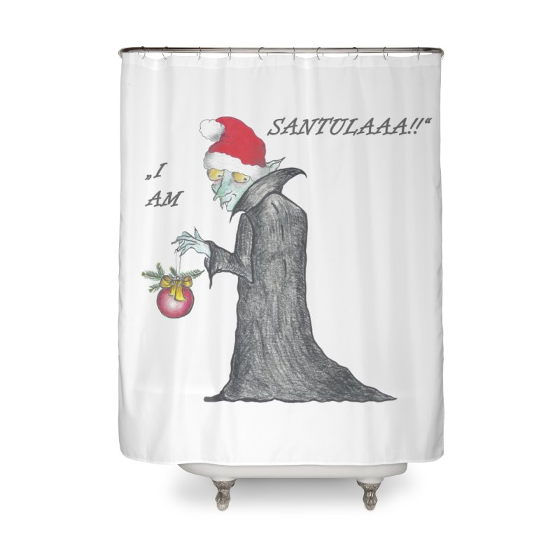 I Am Santula! - Says the Vampire by Bebe Doernerova's Artist Shop