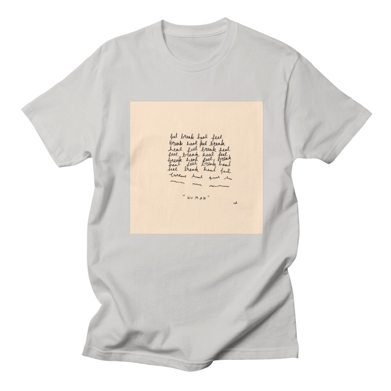 Human Men's T-Shirt by Because, Honestly by Melody Hansen