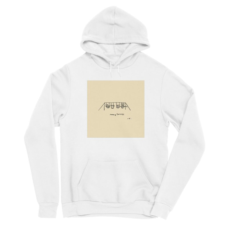 Mood Swings Men's Pullover Hoody by Because, Honestly by Melody Hansen
