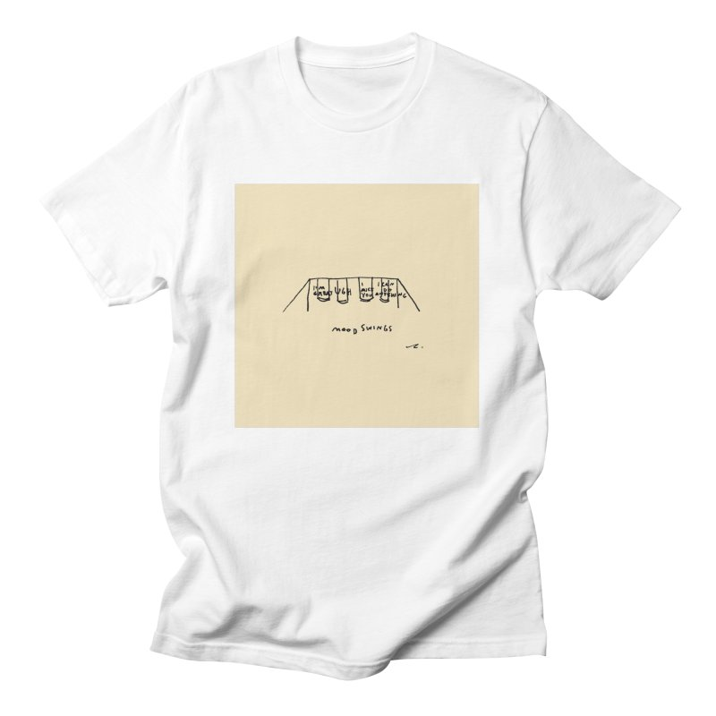 Mood Swings Men's T-Shirt by Because, Honestly by Melody Hansen