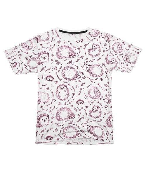 Hedgehog Print T-Shirt
