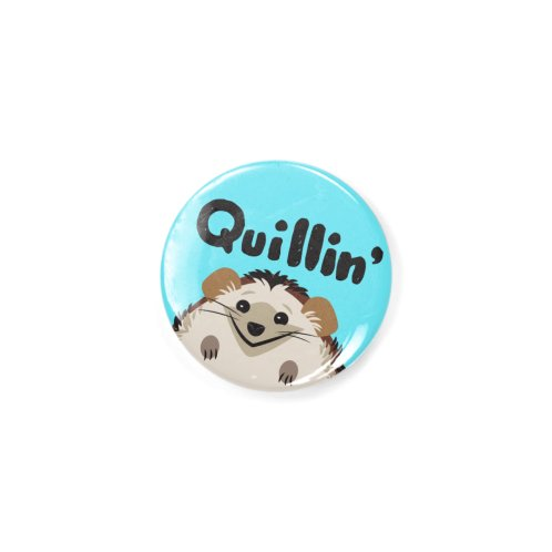 image for Quillin' Hedgehog Button