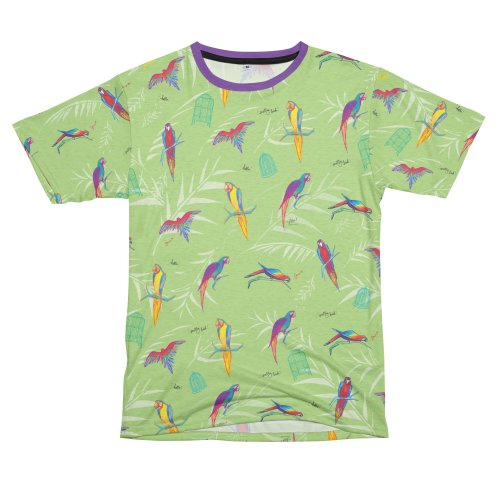 image for Macaws for Days Cut and Sew T-shirt