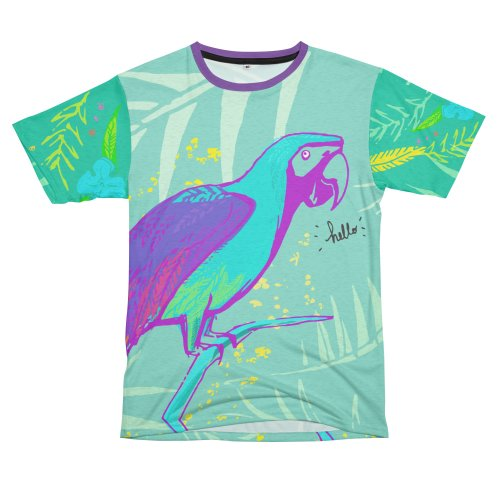 image for Purple Macaw Full Color T-Shirt