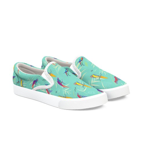 image for Macaw Pattern Slip-ons