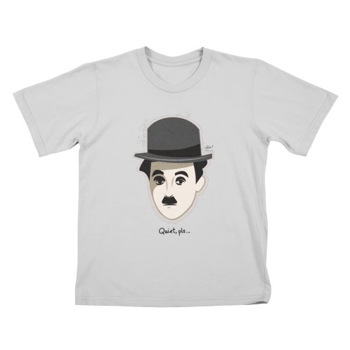 image for Charlie Head Quiet Pls T-Shirt