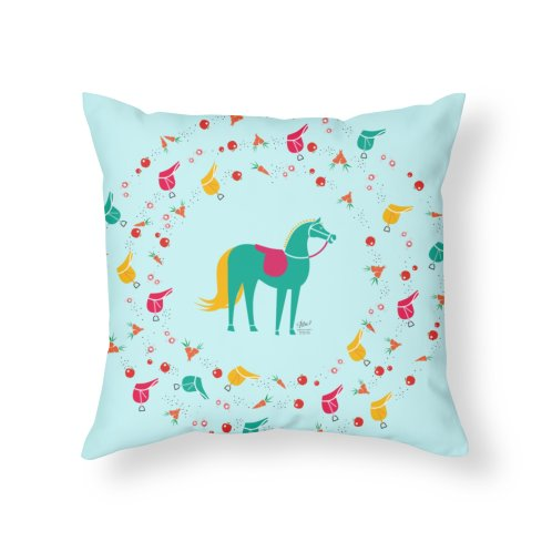 image for Laughing Horse in Teal