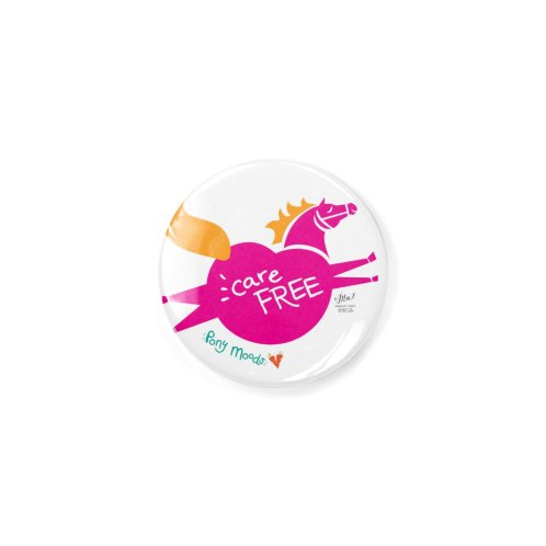 image for Pony Moods Button - Carefree