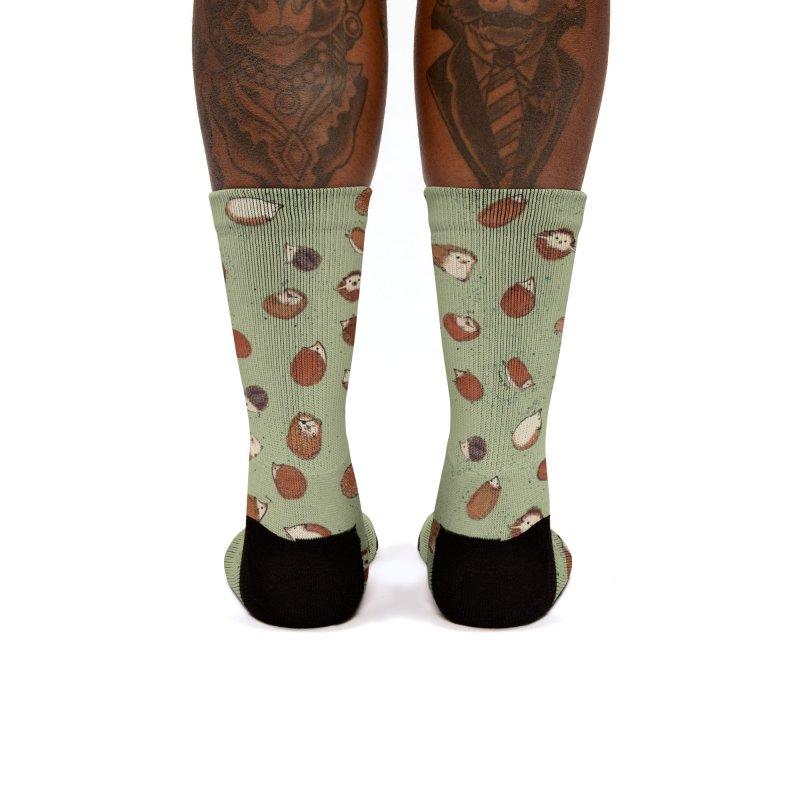 Hedgehog socks Women's Socks by Designs by Meredith N.
