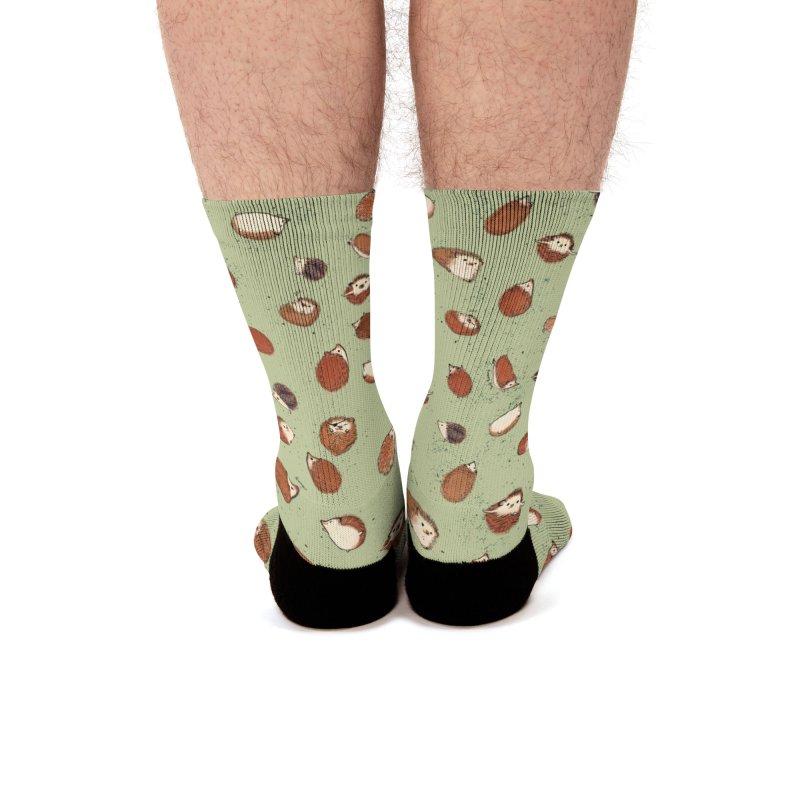 Hedgehog socks Men's Socks by Designs by Meredith N.