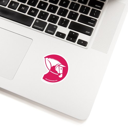 image for Simple Horse Icon Pink
