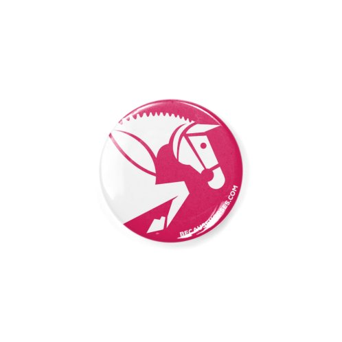 image for Simple Jumping Horse Icon Pink