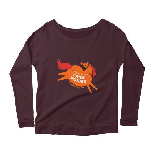 image for I Ride Ponies Orange