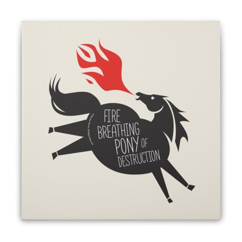 image for Fire Breathing Pony of Destruction