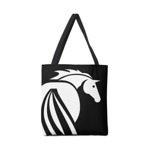 image for Black and White Horse Icon