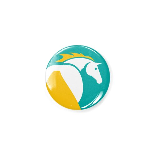 image for Teal, Yellow, White Horse