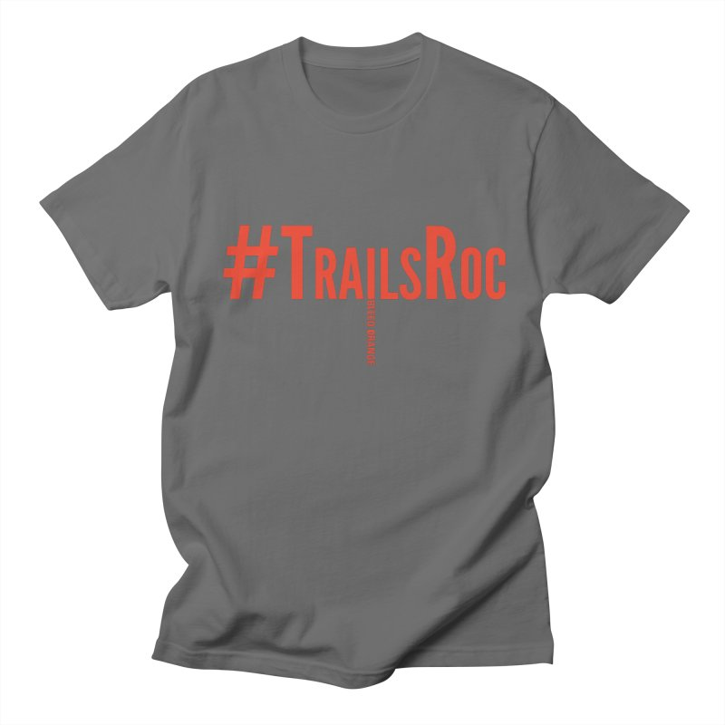 #TrailsRoc -- Bleed Orange Men's T-Shirt by beckhornprints's Artist Shop