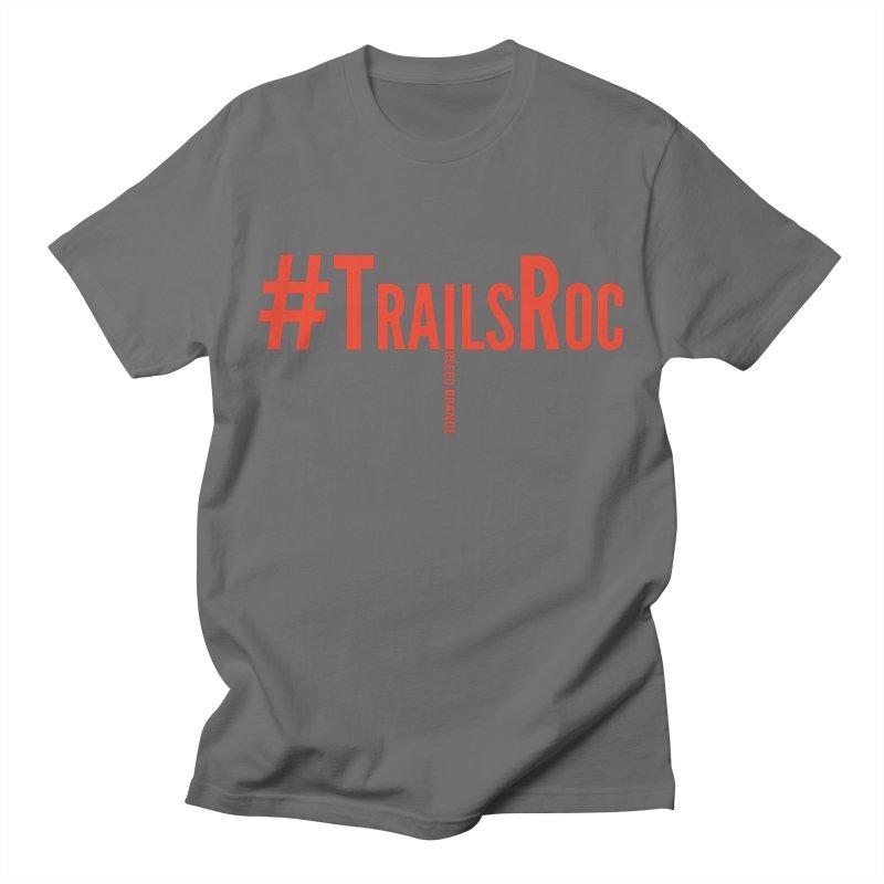 #TrailsRoc -- Bleed Orange Swag Men's T-Shirt by beckhornprints's Artist Shop