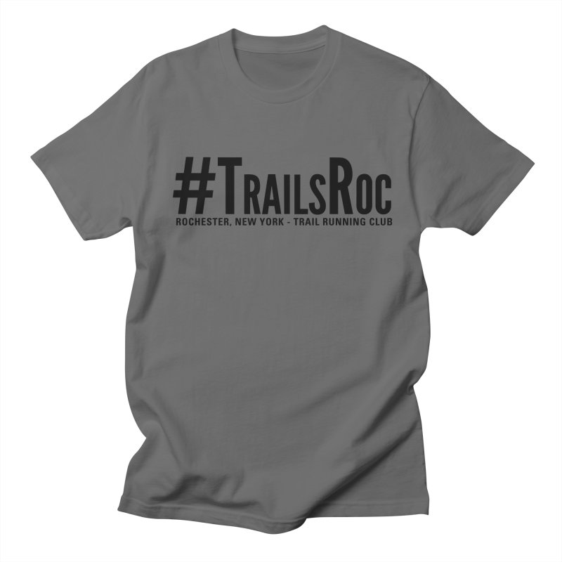#TrailsRoc - Trail Running Club Swag Men's T-Shirt by beckhornprints's Artist Shop