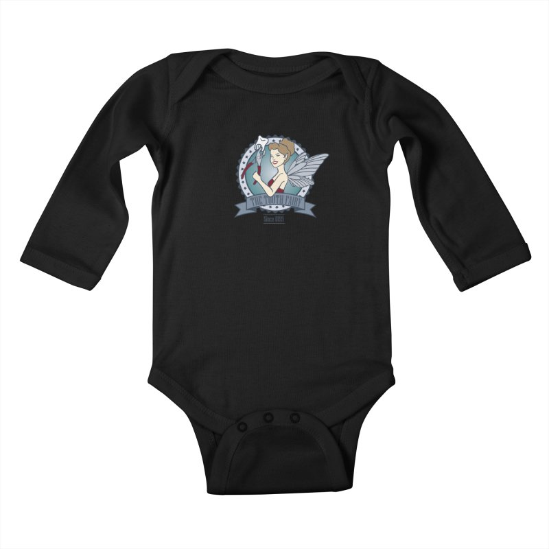The Tooth Fairy Kids Baby Longsleeve Bodysuit by beckybee's Shop