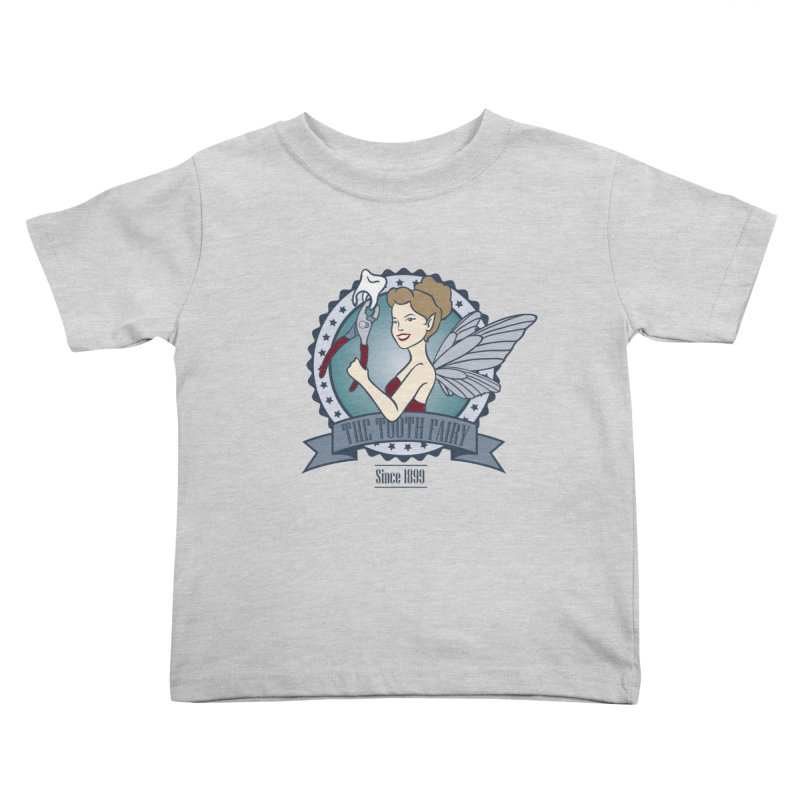 The Tooth Fairy Kids Toddler T-Shirt by beckybee's Shop