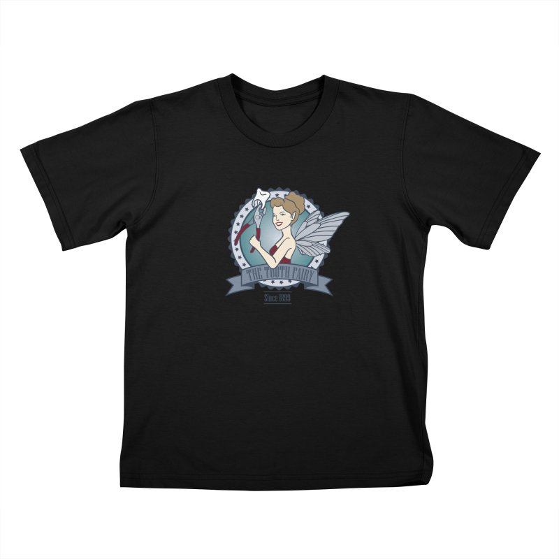 The Tooth Fairy Kids T-shirt by beckybee's Shop