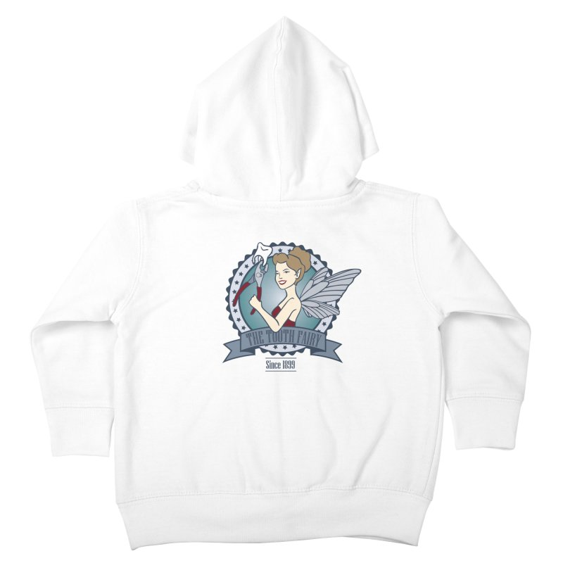 The Tooth Fairy Kids Toddler Zip-Up Hoody by beckybee's Shop