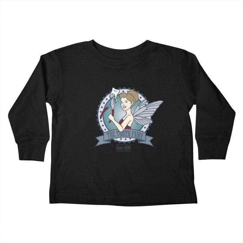 The Tooth Fairy Kids Toddler Longsleeve T-Shirt by beckybee's Shop