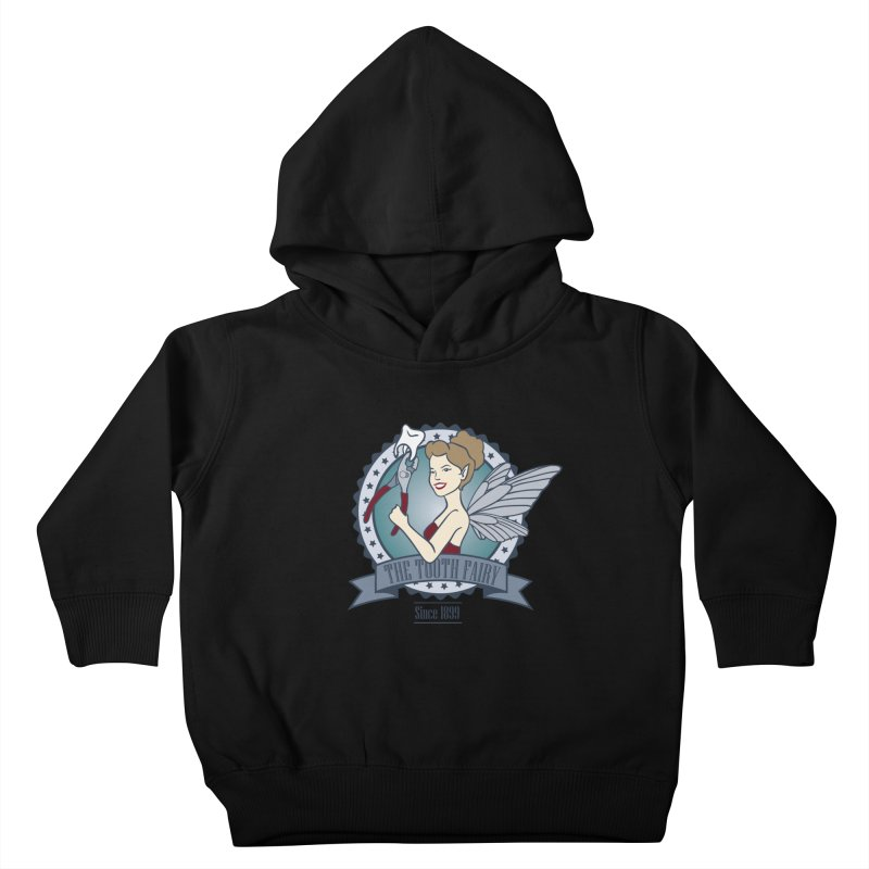 The Tooth Fairy Kids Toddler Pullover Hoody by beckybee's Shop
