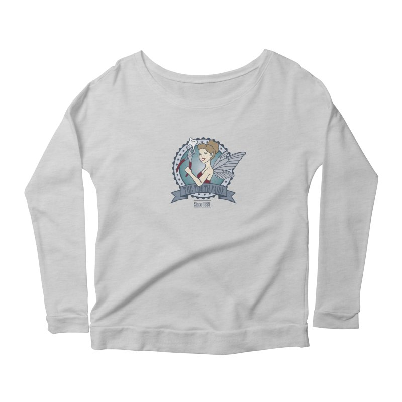 The Tooth Fairy Women's Longsleeve Scoopneck  by beckybee's Shop