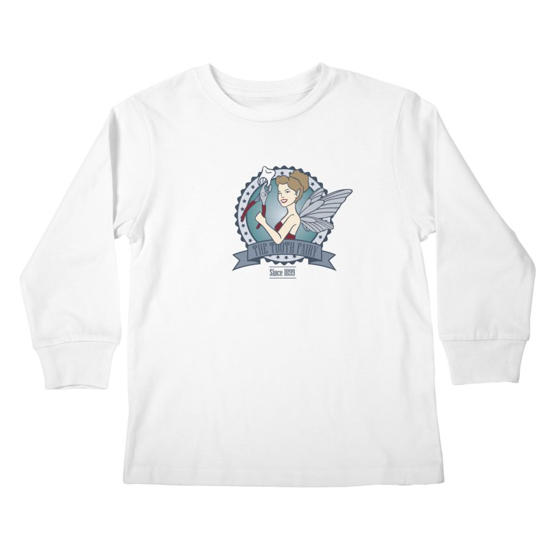 The Tooth Fairy Kids Longsleeve T-Shirt by beckybee's Shop