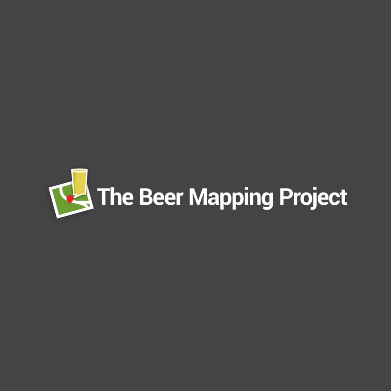 The Beer Mapping Project logo Men's T-Shirt by The Beer Mapping Shop