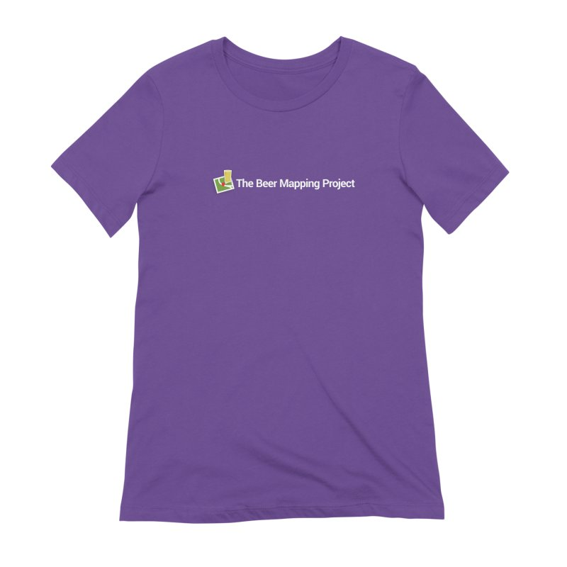 The Beer Mapping Project logo Women's Extra Soft T-Shirt by The Beer Mapping Shop