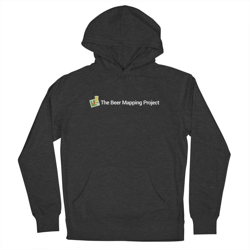 The Beer Mapping Project logo Men's French Terry Pullover Hoody by The Beer Mapping Shop