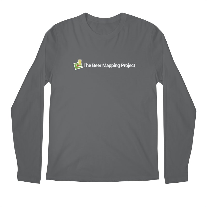 The Beer Mapping Project logo Men's Longsleeve T-Shirt by The Beer Mapping Shop