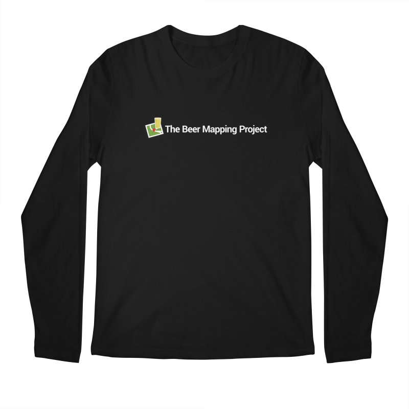The Beer Mapping Project logo Men's Regular Longsleeve T-Shirt by The Beer Mapping Shop