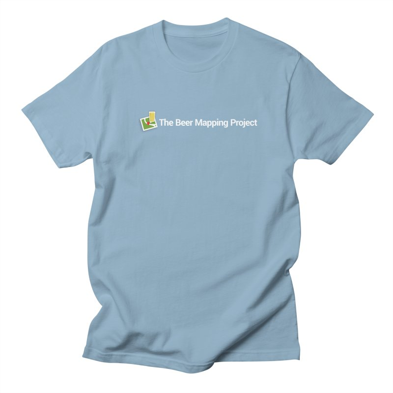 The Beer Mapping Project logo Women's Regular Unisex T-Shirt by The Beer Mapping Shop