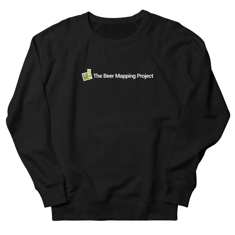 The Beer Mapping Project logo Women's French Terry Sweatshirt by The Beer Mapping Shop