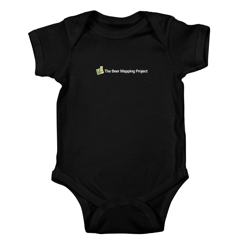 The Beer Mapping Project logo Kids Baby Bodysuit by The Beer Mapping Shop
