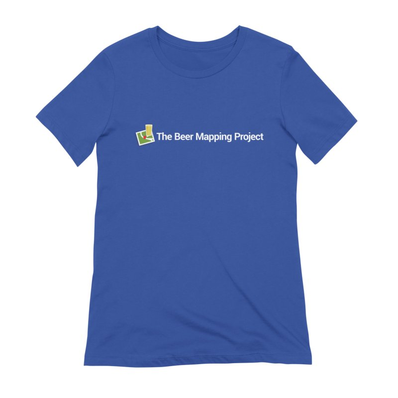 The Beer Mapping Project logo Women's T-Shirt by The Beer Mapping Shop