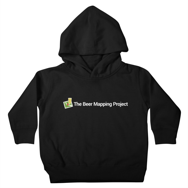 The Beer Mapping Project logo Kids Toddler Pullover Hoody by The Beer Mapping Shop